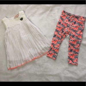 Girls Juicy Couture Outfit Size 2T.